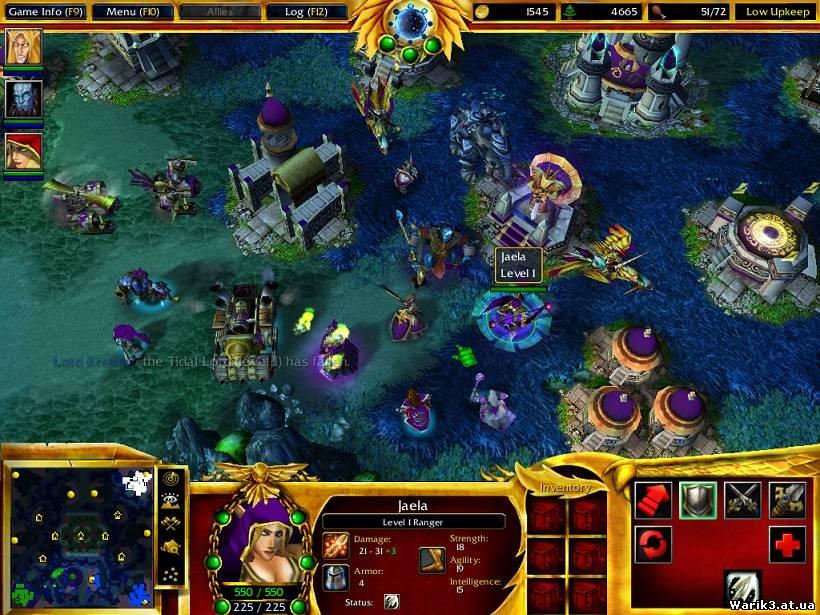 Патч на Warcraft 3 скачать